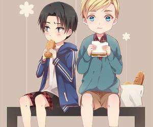attack on titan, anime, and Erwin image