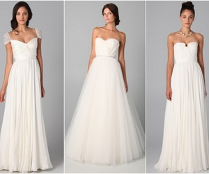 gown, f, and reem acra image