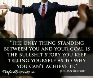 quote, goals, and success image