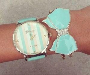 bow, fashion, and bracelet image
