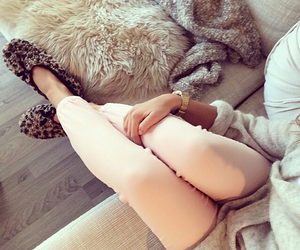 fashion, cozy, and pink image