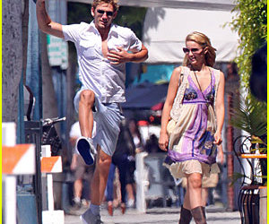 alex pettyfer, couple, and dianna agron image