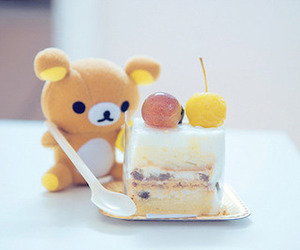 kawaii, cute, and cake image