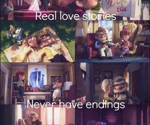 couple, up, and true love image