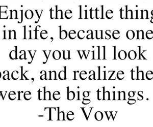 quote, the vow, and life image