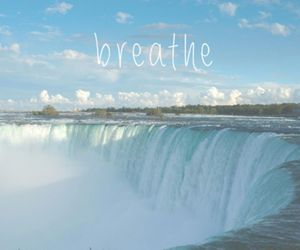 breathe, calm, and inspiration image