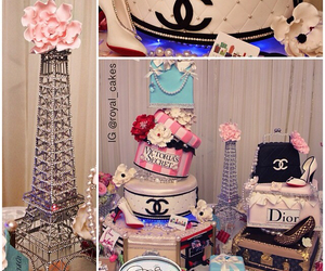 cake, chanel, and dior image