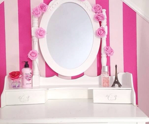 pink, room, and style image