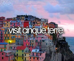 before i die, cinque terre, and travel image