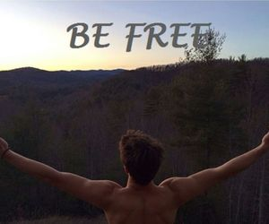 be, be free, and cameron dallas image