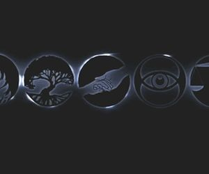 divergent, amity, and four image