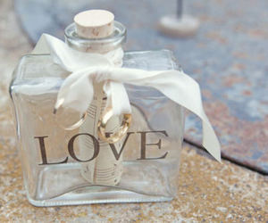 bottle, ribbon, and cute image