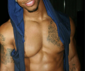 african american, Hot, and hot guy image