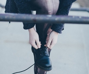 90s, dr martens, and style image