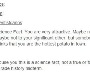 attractive, fact, and funny image
