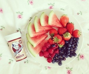 food, blueberry, and girly image