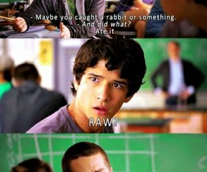 funny, teen wolf funny moments, and teen wolf image