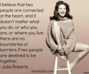 love, julia roberts, and quote image