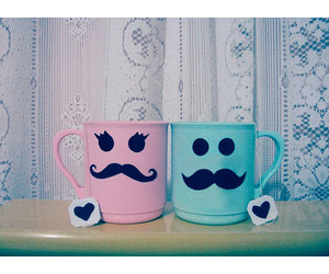 mustache, buy, and cup image
