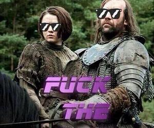 badass, arya stark, and funny image