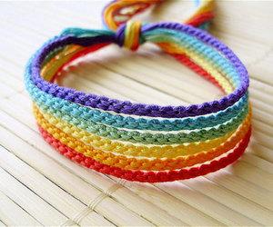 bracelet and rainbow image