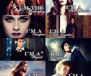 divergent, harry potter, and twilight image