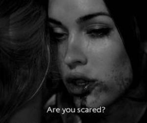 megan fox, jennifer's body, and scared image