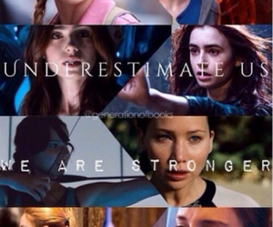 divergent, girl, and strong image
