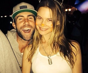 Behati Prinsloo, adam levine, and couple image