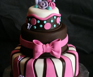 awesome, cake, and flower image