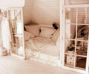 comfortable, rooms, and bedroom image