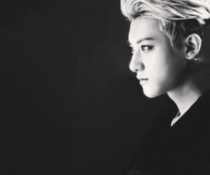 black and white, exo, and handsome image