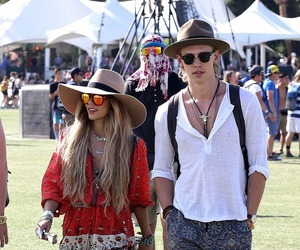 vanessa hudgens, coachella, and couple image