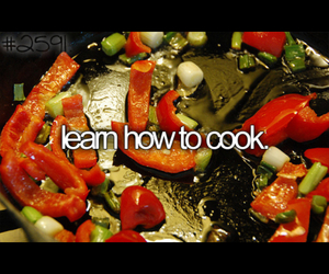 before i die, cook, and tasty image
