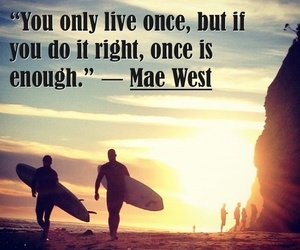 quote, beach, and live image