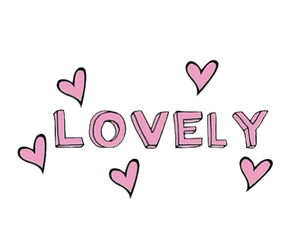 lovely, pink, and tumblr image