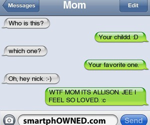 awkward, messages, and mom image
