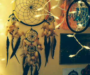 cute room, hipster, and dreamcatcher image