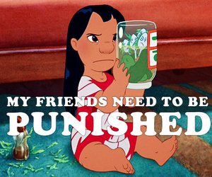 friends, lilo, and funny image