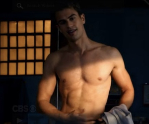 four, shirtless, and theo james image