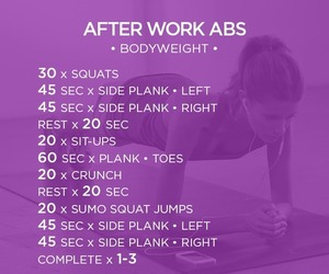 workout, fit, and fitspo image