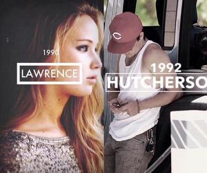 Jennifer Lawrence and josh hutcherson image