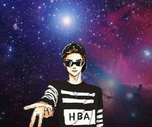 exo, galaxy, and kpop image