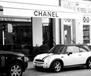 chanel, black and white, and beautiful image
