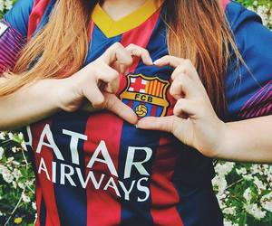 Barca, lionel messi, and love image