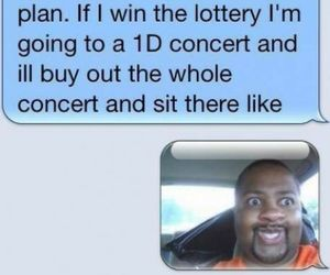 one direction, funny, and concert image