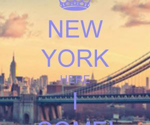 !, new york, and ♥ image