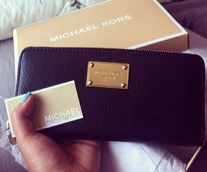 fashion, Michael Kors, and wallet image