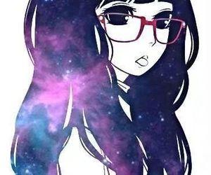 anime, galaxy, and kawaii image