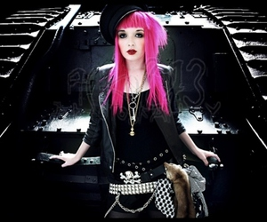 alternative, hair, and pink image